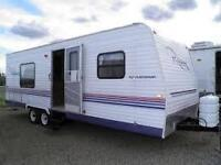 RV parking North of Calgary, Wanted