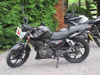 BARGAIN ,keeway 125 learner legal 2014 only 8000 miles lovely to ride 2 keys logbook