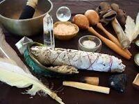Shamanic healing massage