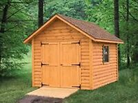 Rustic Charm Sheds - Various sizes