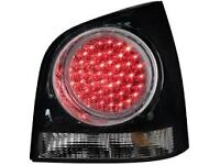 VOLKSWAGEN, VW POLO LED REAR LIGHTS WILL FIT 2001-2009 PLUG STRAIGHT IN BRAND NEW IN BOX, £50