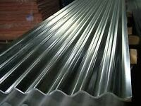 50 corrugated galvanised steel roof sheets 8ft