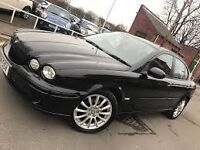 L@@K 57 PLATE JAG X TYPE DIESEL FULLY LOADED ANY PX WELCOME