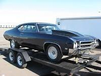 Bought a project car? Need it hauled?