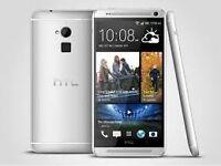Sim Free HTC ONE MAX Silver 16GB