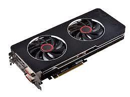 XFX R9 280x Black Edition Double DD 3gb GDDR5 card