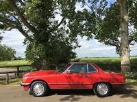 Wanted Mercedes 300sl or 500sl 1986 to 1989