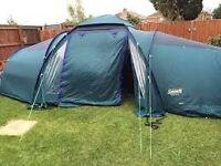 Camping joblot including a 8 man tent,camping stove,larder,table and sleeping bag £175 O.N.O