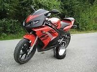 super sports bike full mot 125cc late 2007 open too reasonable cash offers