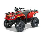 2015 ARCTIC CAT 500 4X4 FOR ONLY $5,799.00 WOW