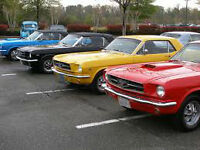 FORD & MUSTANG SHOW & SHINE - CANADIAN TIRE ON ADMIRALS ROAD