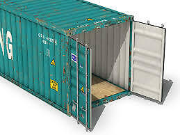 LOOKING for small shipping container for storage