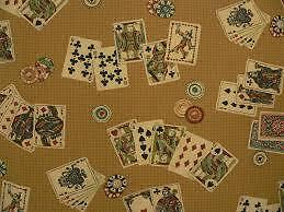 Wanted any fabric with playing cards on it!!