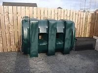 slimline oil tank 1200 LTR in good condition £40.00 no offers