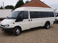 Manchester Minibus Hire Call 0161 7110035 or 07879680909 with driver