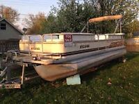 Looking for a older pontoon boat