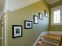 painting 5 star painters all areas in Glasgow interior and exterior