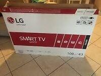 """BRAND NEW LG 43"""" LED SMART TV"""