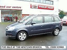 Vauxhall/Opel Zafira 1.6i 16v ( a/c ) Club MPV 5 Door Hatch Back