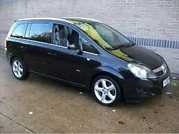 Vauxhall zafira diesel automatic and tiptronic (manual) you choose