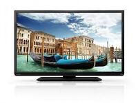 toshiba 40l1333db led . full hd 1080p . free view. usb