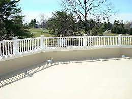 fiberglass sundeck materials on sale now (BC)