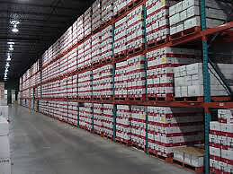Brand New Pallet Racking at Used Prices
