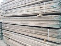 25 used scaffold boards 13ft