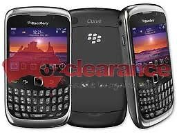 Blackberry-Curve-9300-Black-Smartphone-Clearance-Express-Post