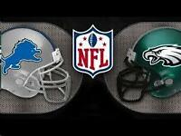 Detroit Lions Vs Phily Eagles Lower Level THANKSGIVING DAY GAME