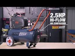 Blackridge 200 lpm air compressor near new Whyalla Stuart Whyalla Area Preview
