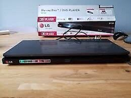 * LG Smart Blu Ray Player with Magic Remote