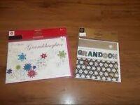 1000 CHRISTMAS CARDS MARKS & SPENCER HANDMADE GRANDSON GRANDMA RRP £3250
