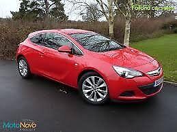 Vauxhall Astra Gtc Sri 1.4 turbo ( Red ) 46500 mls