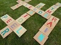 Handmade outdoor toys