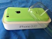 Apple iPhone 5c green unlocked any network ee orange t mobile virgin 16 gig gb