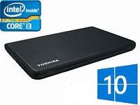 "Toshiba Satellite Pro 15.6"" Laptop - Intel Core i3 - Windows 10"