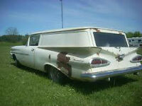Wanted...1959 Chev Sedan Delivery