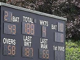 Bromley Cricket Club are looking for a 2nd XI scorer