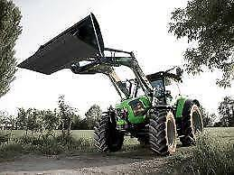 DEUTZ TTV5130 TRACTOR WITH LOADER FOR SALE