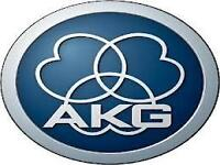 AKG MICROPHONES - STAGE & RECORDING