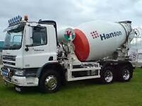 HGV CLASS 2 DRIVER - Reading Concrete Services Limited - Reading, Theale. - IMMEDIATE START