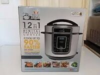 PRESSURE KING PRO 12 IN 1 DIGITAL PRESSURE COOKER (NEW NEVER BEEN USED)