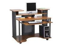 Eclipse Mobile Computer Workstation Office Desk
