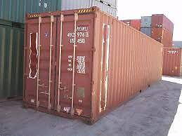 40' Cargo Worthy Shipping Container HC $2640 Incl GST & Del. Hemmant Brisbane South East Preview