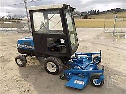 New holland cm274 mower snowblower 4wd cab