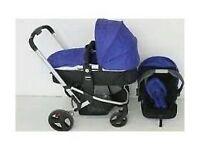 Mothercare my choice pram + car seat