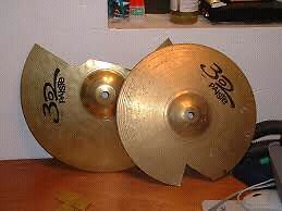 Cracked Cymbals!