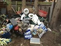 Man with a van cheap service house removal delivery waste rubbish collection gardening