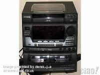 Aiwa stereo system